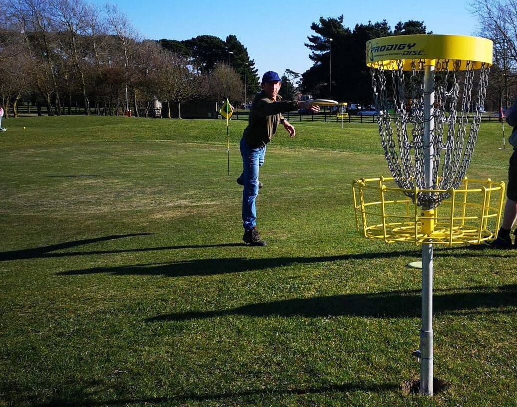 Disc Golf Out Of Bounds