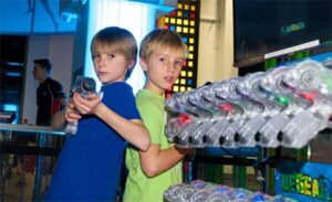 Laser Tag at Out Of Bounds, Rustington